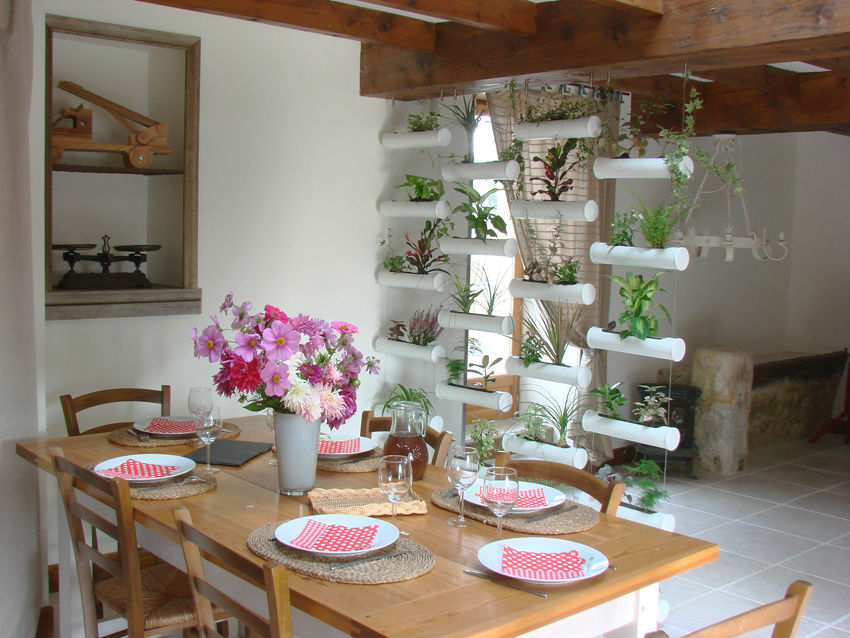 Decoration mur vegetal interieur - Idee deco mur interieur ...
